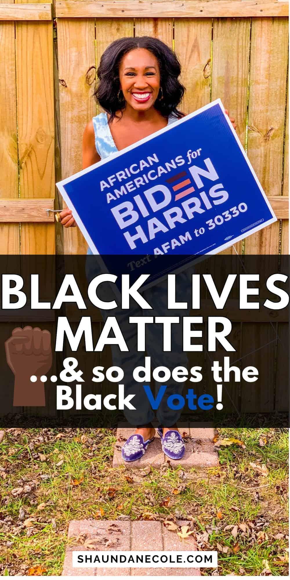 The Black Lives Matter 2020 Vote