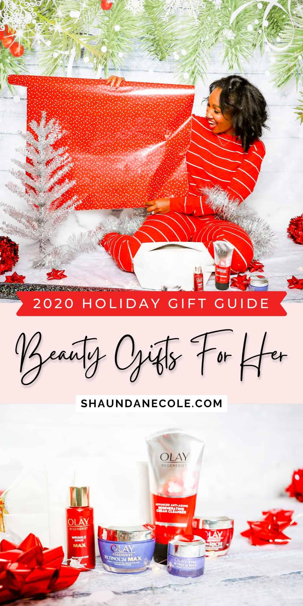 All Things Beauty 2020 Christmas Gift Guide Best Beauty Gifts For Her Olay Regenerist Skin Care