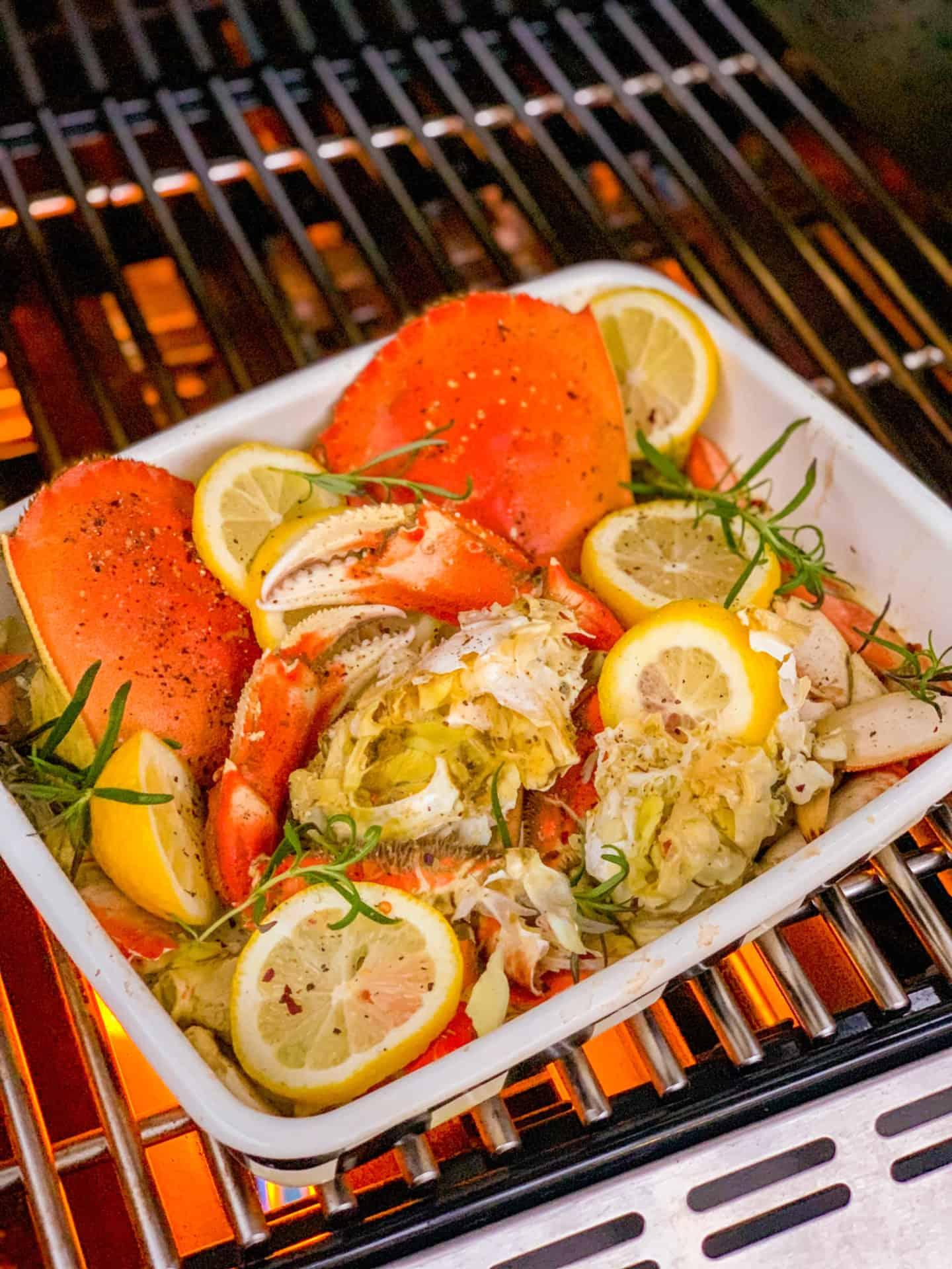 Weber Grill Recipes Dungeness Crab