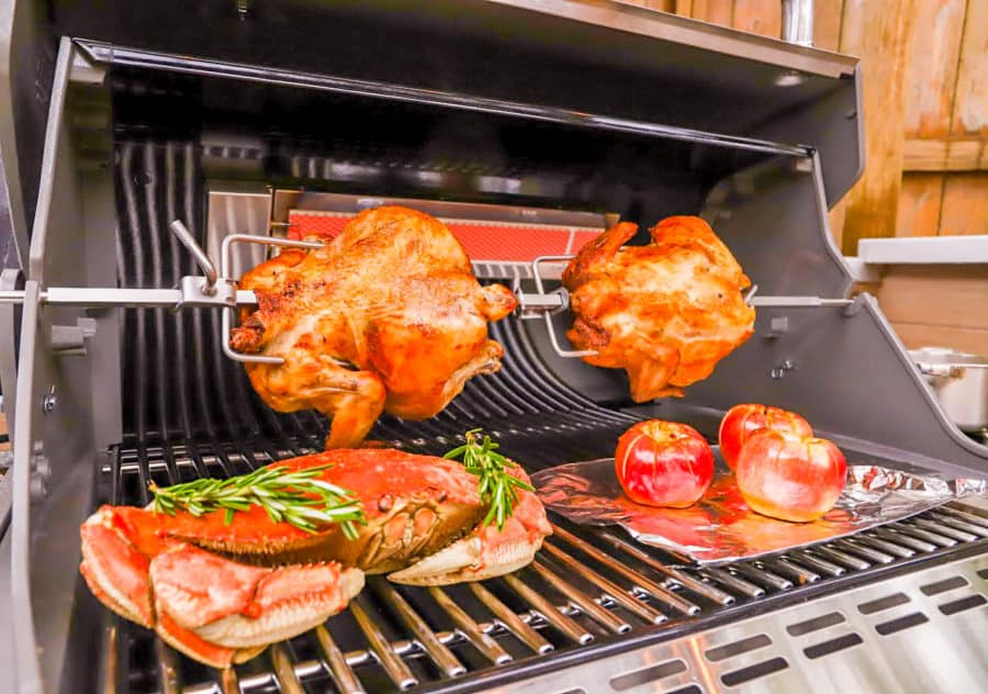 Weber Summit Grill Rotisserie Recipes For The Holidays At Home