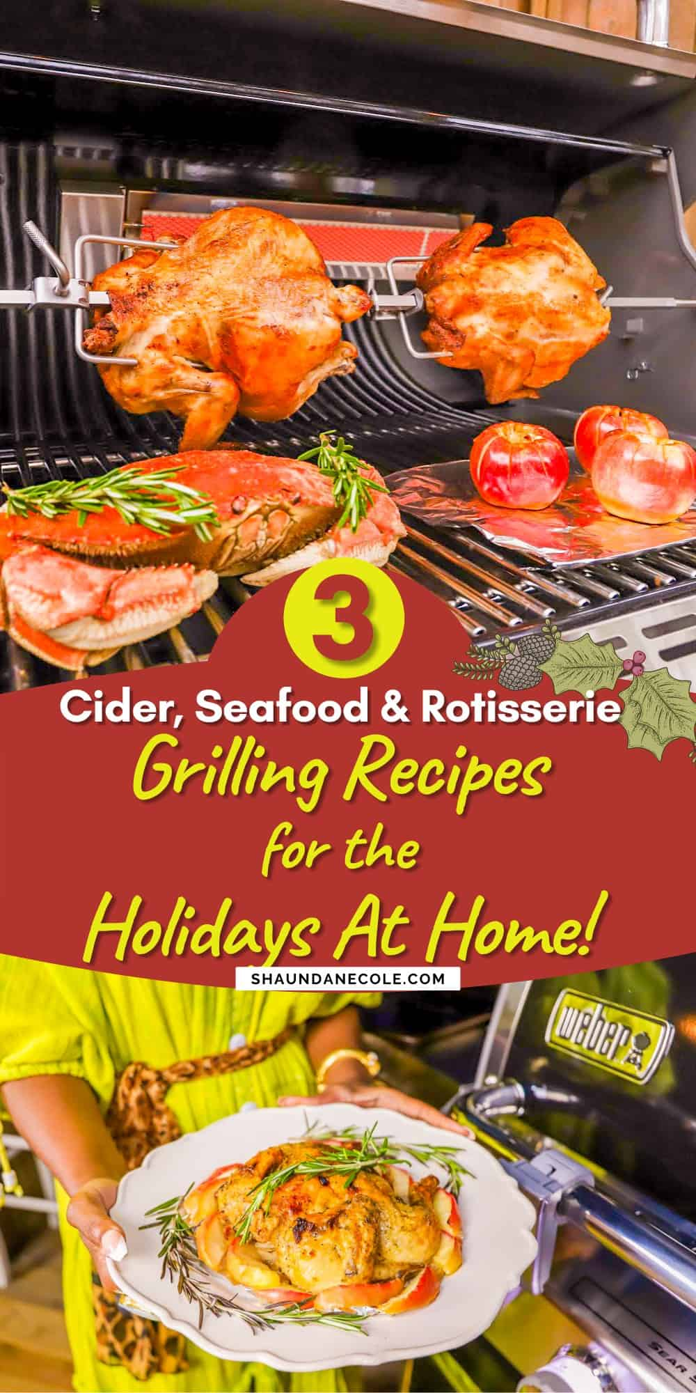 Weber Grill Recipes For The Holidays At Home