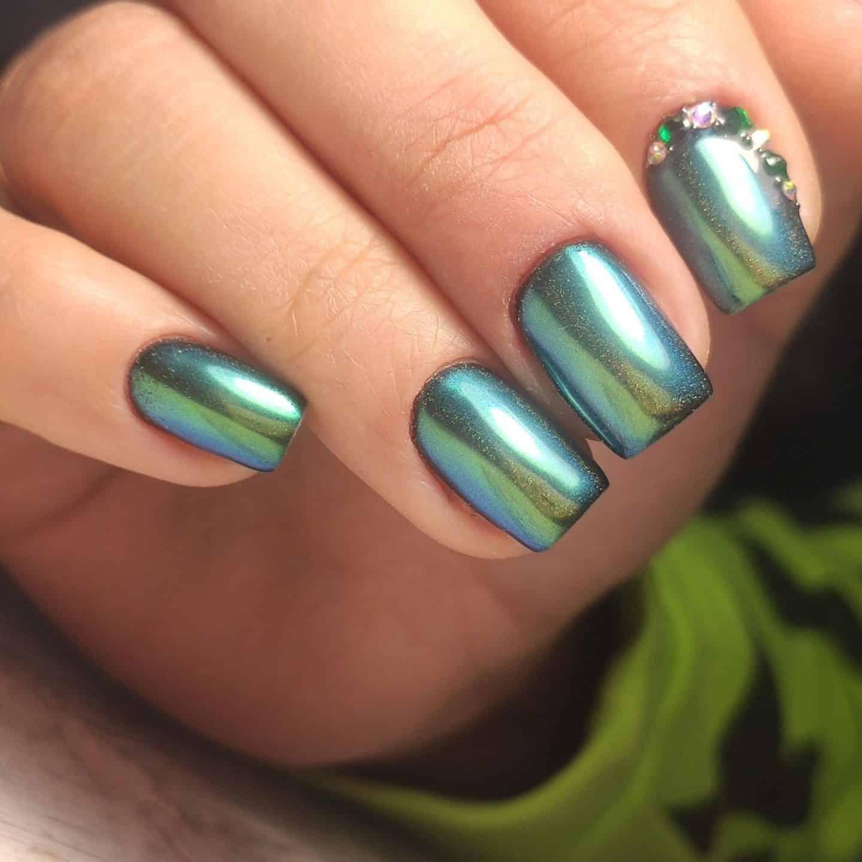Christmas Unicorn Nails