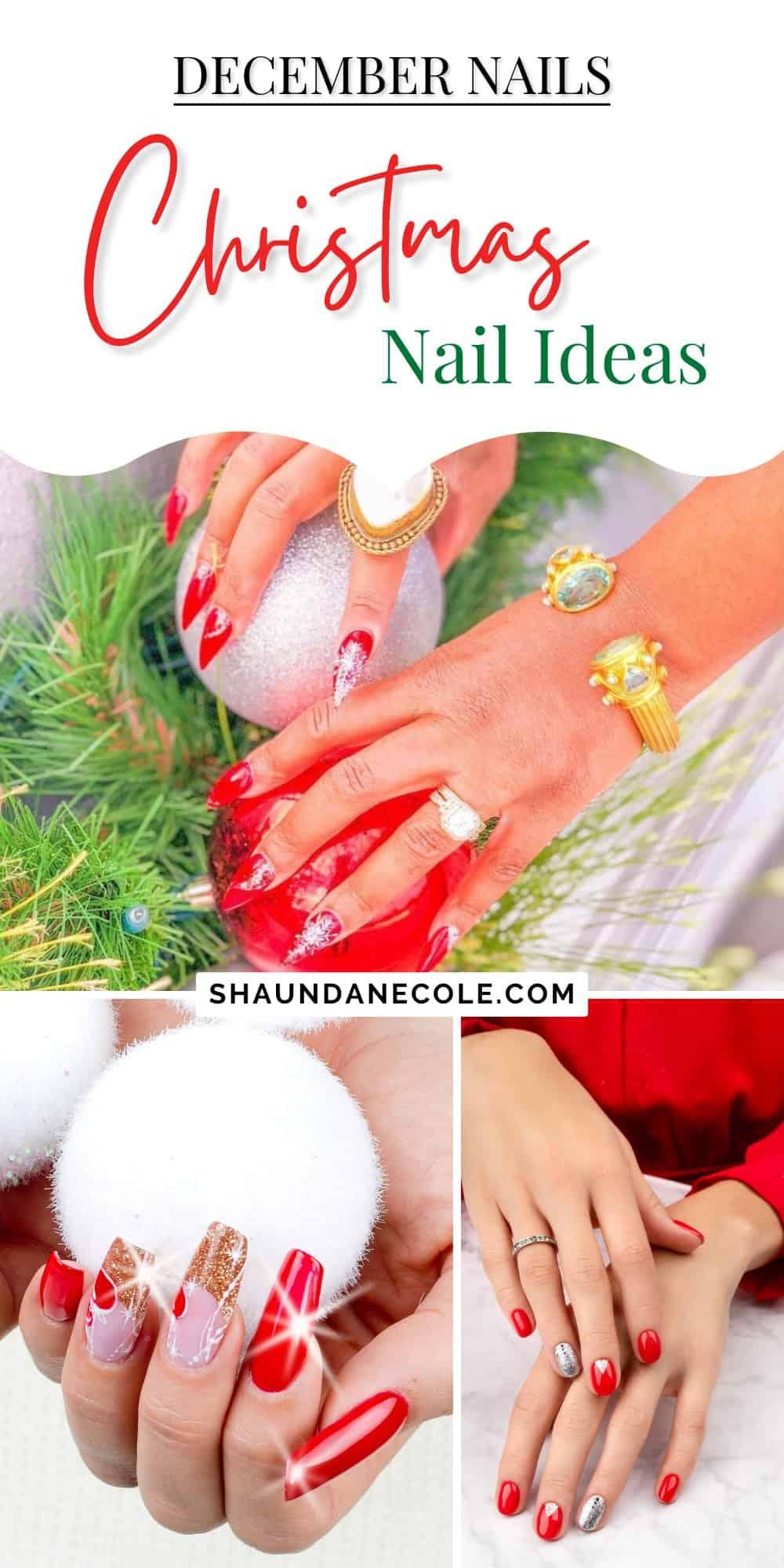 Christmas Nails Ideas & Designs