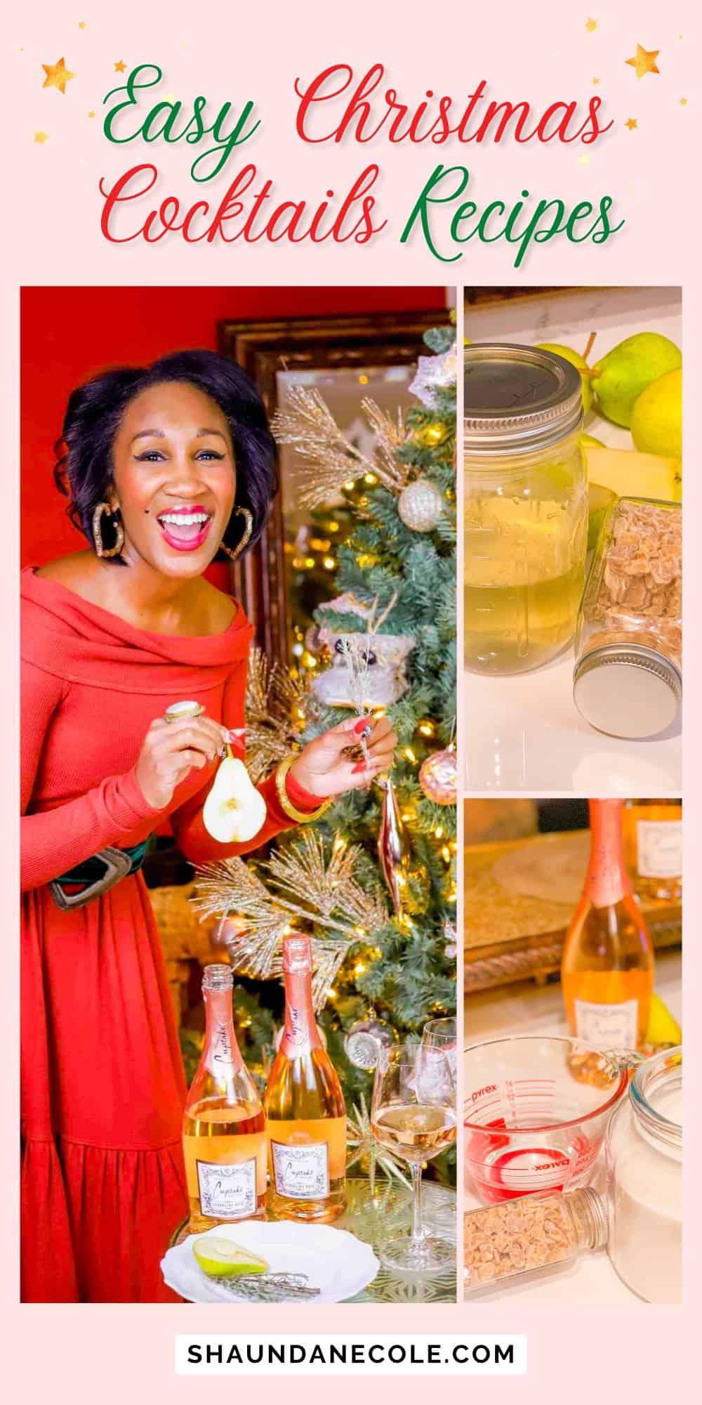 Easy Christmas Cocktails Recipes