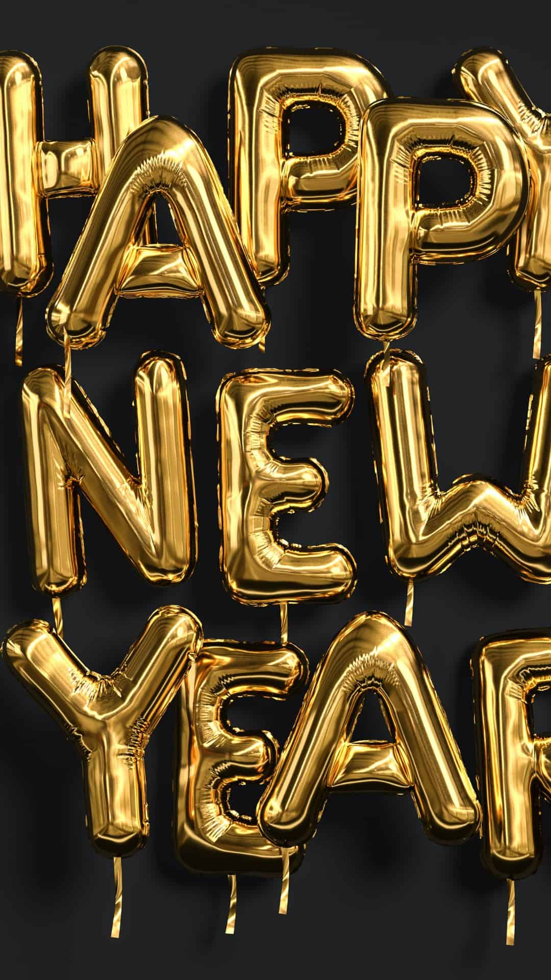 Happy New Years Aesthetic iPhone Wallpaper Backgrounds 4