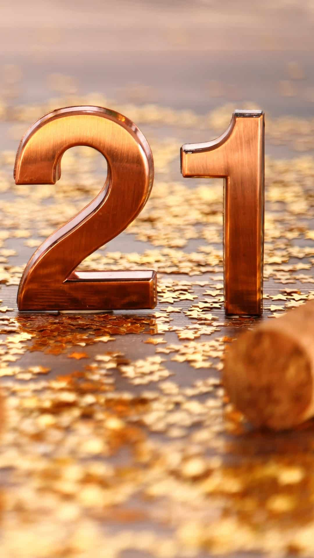 Happy New Years Aesthetic iPhone Wallpaper Backgrounds 5