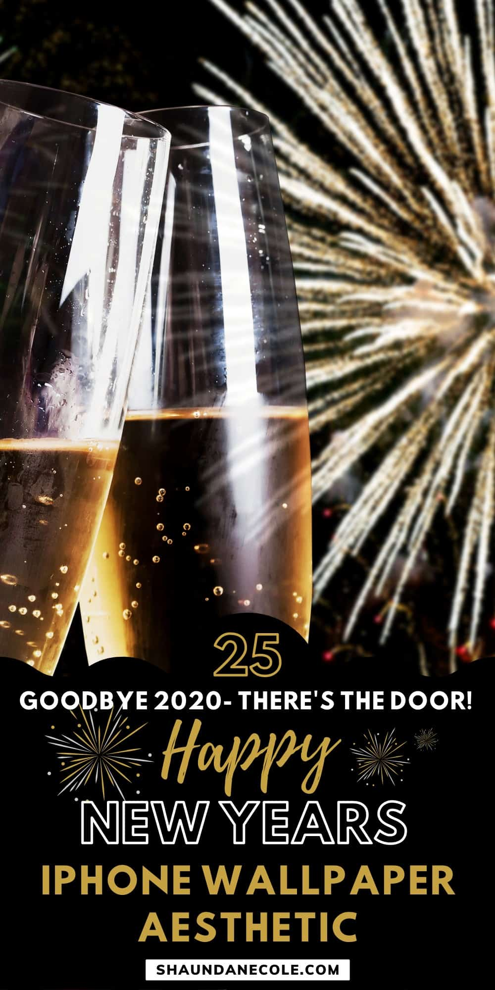 Goodbye 2020- There's The Door!