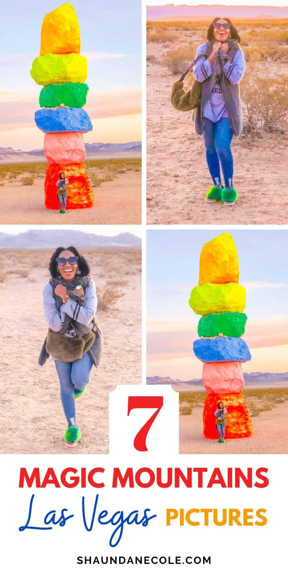 Seven Magic Mountains Las Vegas Photoshoot Pictures
