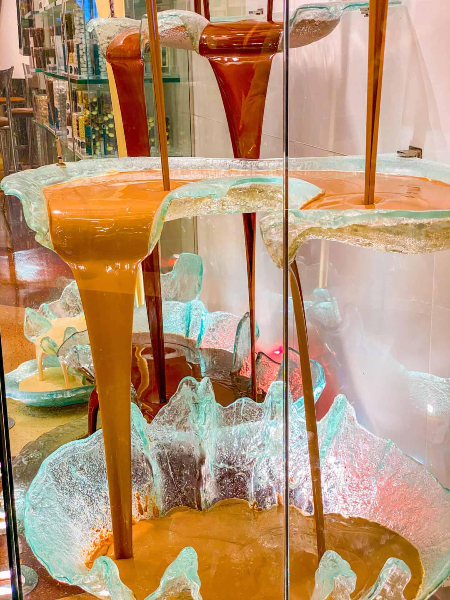 Las Vegas Bellagio Guinness World's Largest Chocolate Fountain