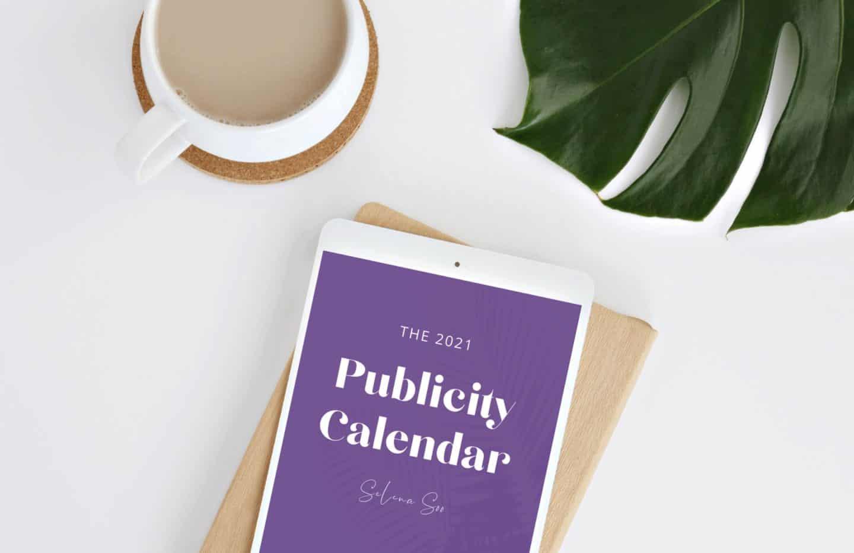 Media Publicity Calendar