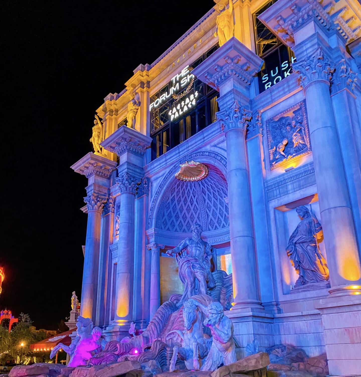 Visit The Forum Shops At Caesars Palace