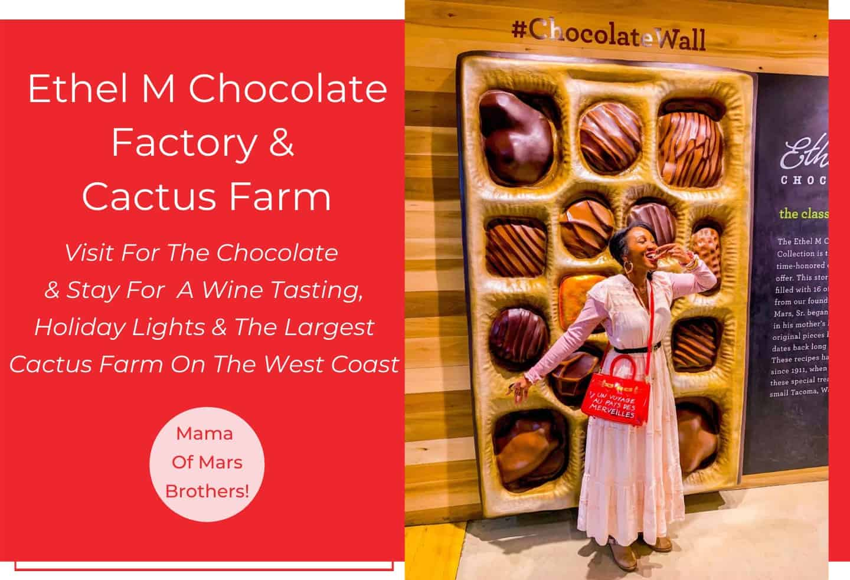 Ethel M Chocolate Factory Free Tour