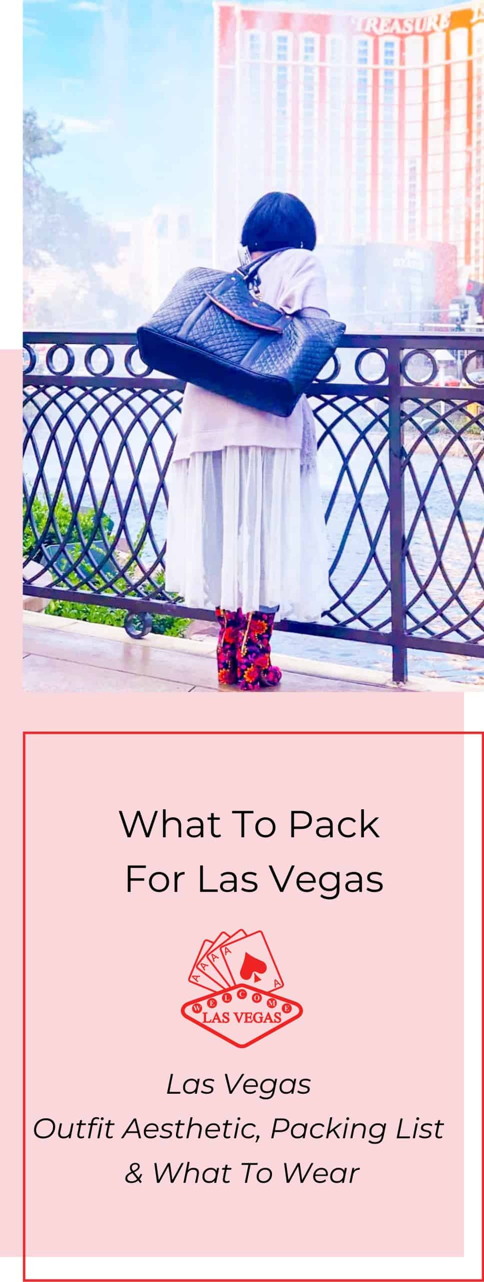 Las Vegas Outfit Aesthetic, Packing List & What to Wear