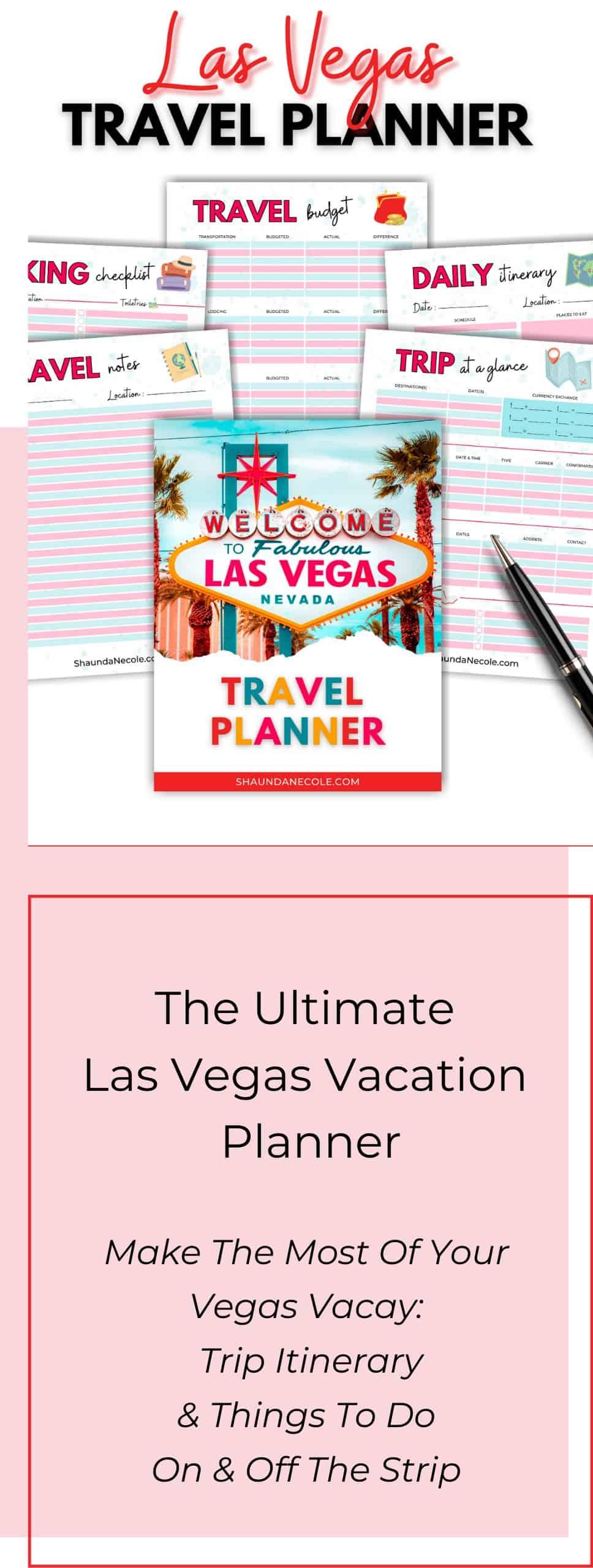 Las Vegas Travel Planner