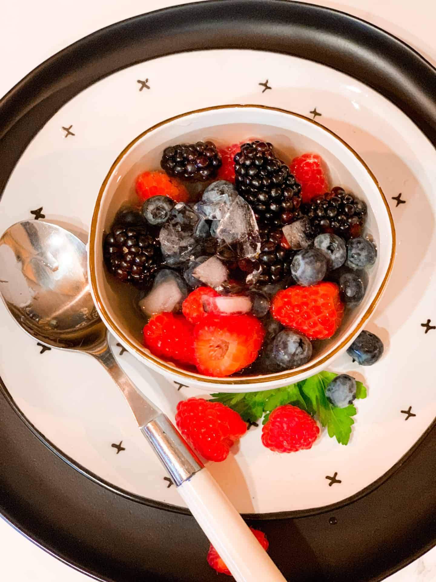 All Berries Bowl With Coconut Water- Natures Cereal