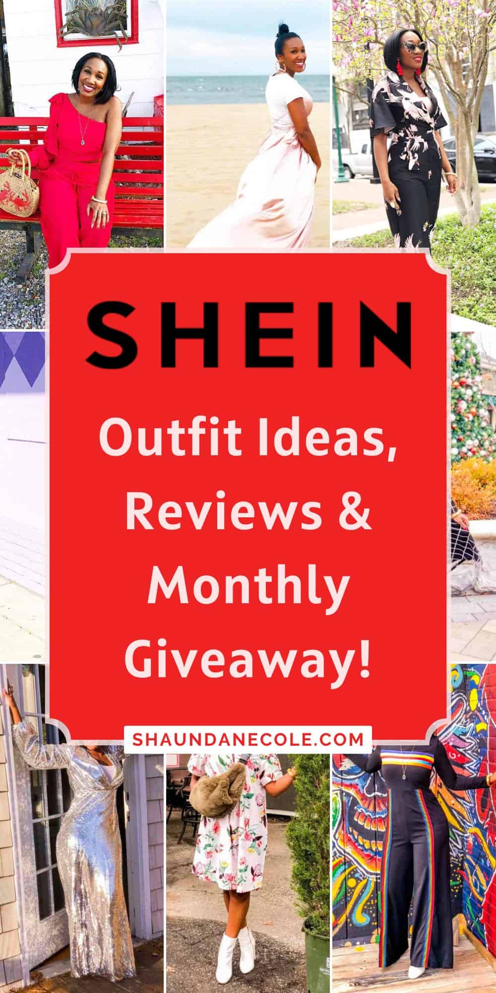 SHEIN Reviews, Outfit Ideas & Monthly Giveaway!