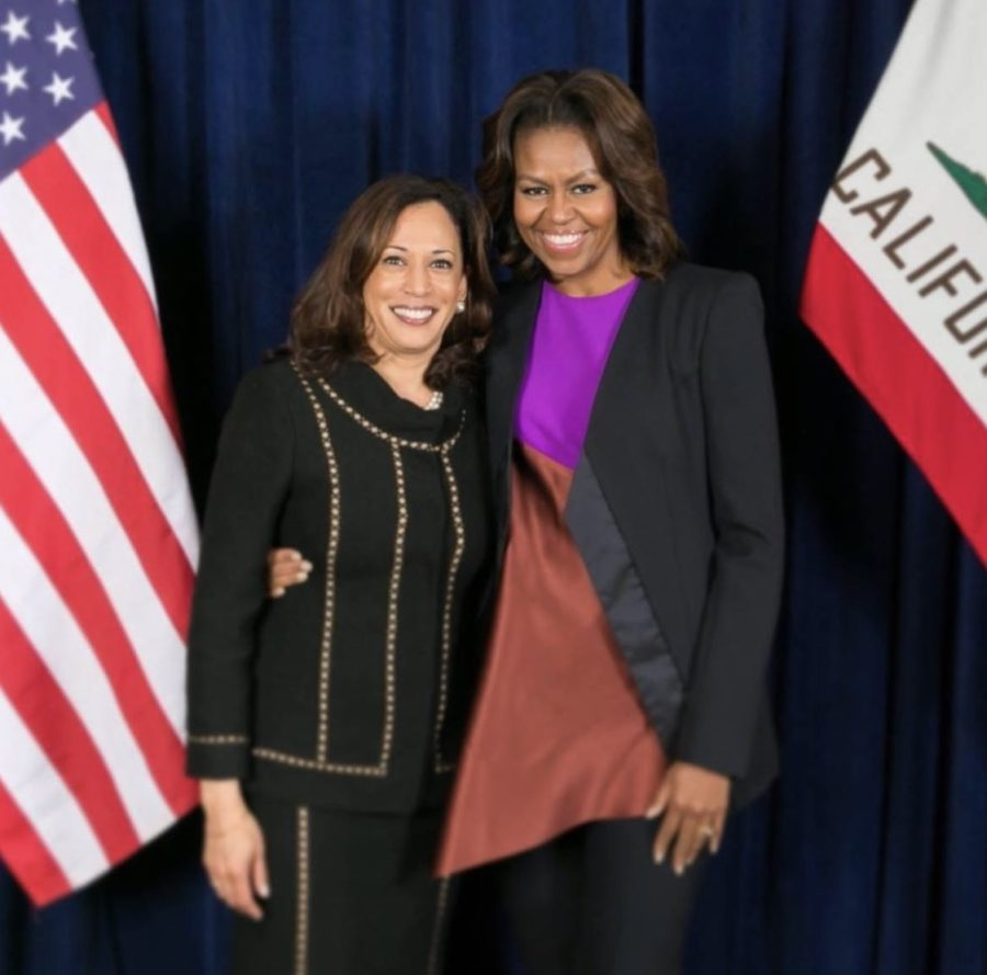 The Most Powerful Black Women In The World- Vice President Kamala Harris & First Lady Michelle Obama