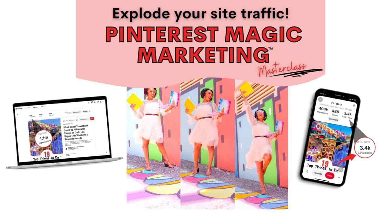 Enroll In Pinterest Magic Marketing Masterclass