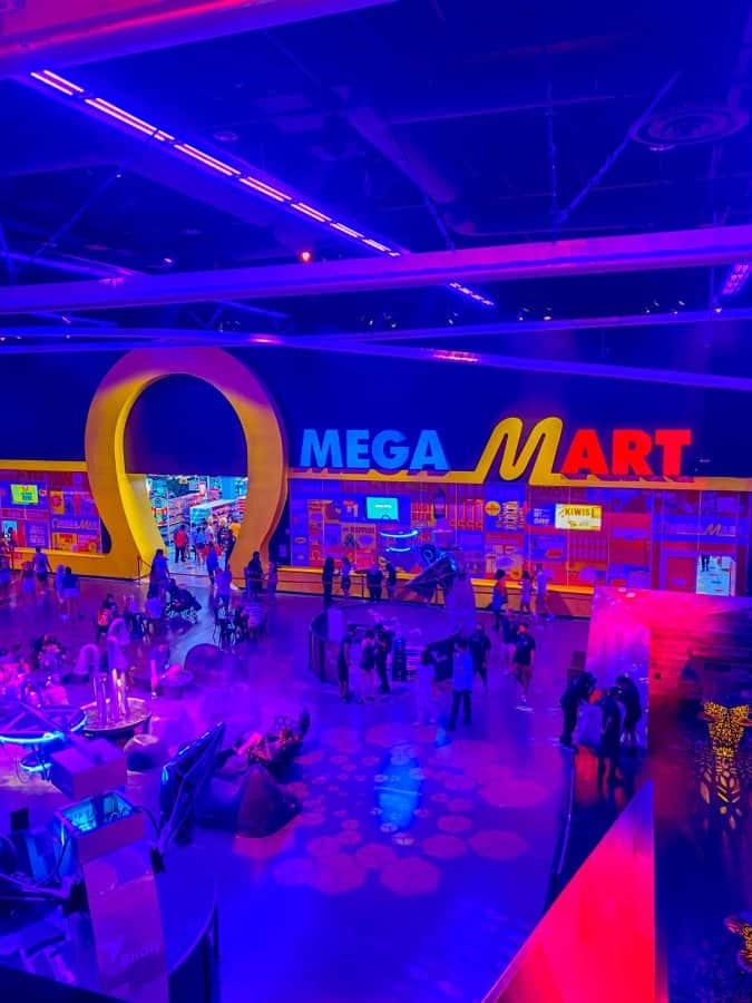 Omega Mart Experience