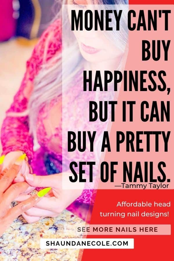 Money Can't Buy Happiness, But It Can Buy Nails