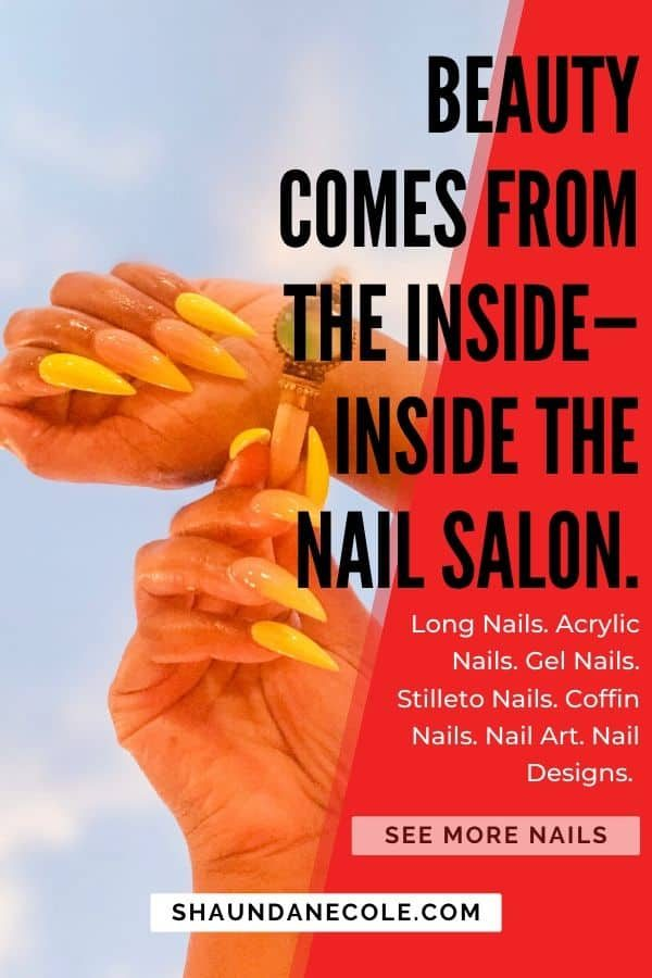 Beauty Comes From Inside— Inside The Nail Salon